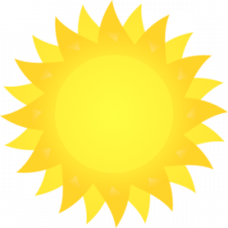 Dusk clipart matahari