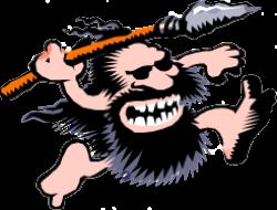 Caveman clipart midget