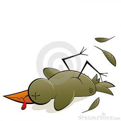 Brds clipart died