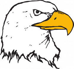 Beak clipart eagle head