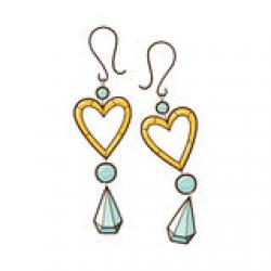 Earrings clipart