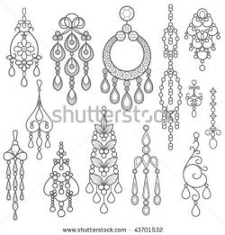 Earrings clipart indian jewellery