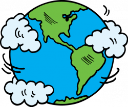 Planet Earth clipart happy earth