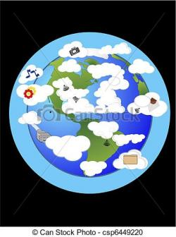 Atmosphere clipart earth