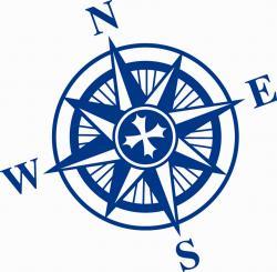 Compass clipart outline