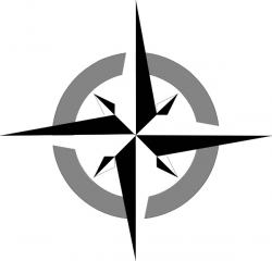 East clipart compass rose