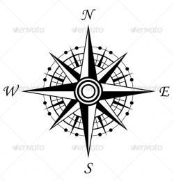 East clipart old compass
