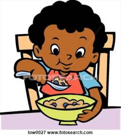 Breakfast clipart kid breakfast