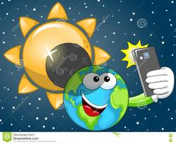 Eclipse clipart cartoon