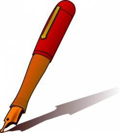 Editingsoftware clipart handwriting pen