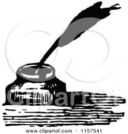 Editingsoftware clipart inkwell