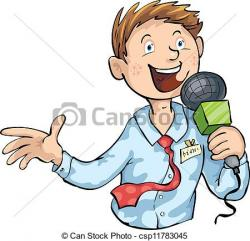 Journalist clipart school news