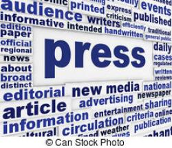 Journalist clipart print media