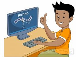 Editingsoftware clipart video production