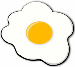 Fried Egg clipart transparent