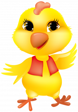Chick clipart funny chicken