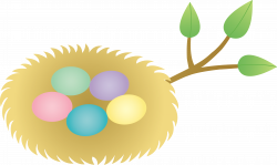 Bird's Nest clipart animated