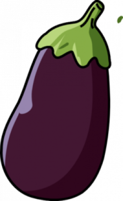Eggplant clipart cartoon