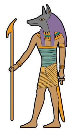 Hieroglyphs clipart egyptian god