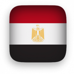 Flag clipart egyption