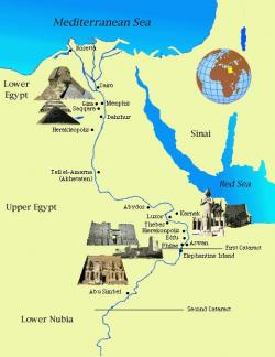 Mediterranean clipart egypt map