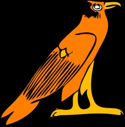 Prairie Falcon clipart art