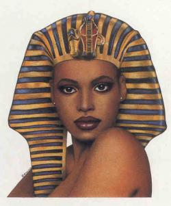 Egyptian Queen clipart african queen