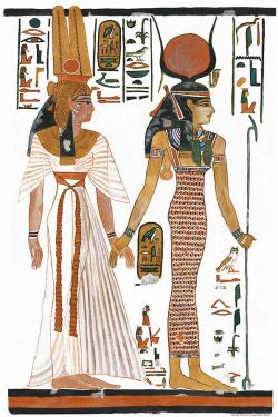Isis clipart egyptian art