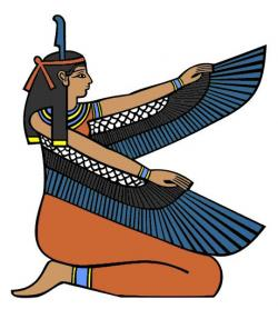Egyptian Queen clipart egyptian god