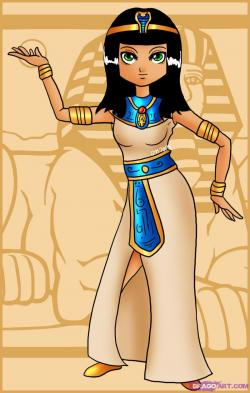 Egyptian Queen clipart egyptian man