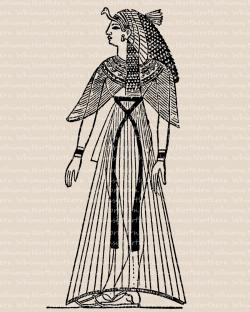 Egyptian Queen clipart history