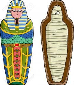 Egyptian Queen clipart mummy