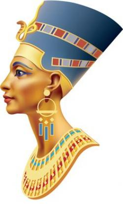 Egyptian Queen clipart nefertiti