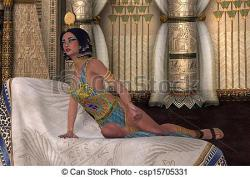 Egyptian Queen clipart person