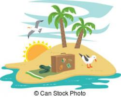 Eiland clipart vacation