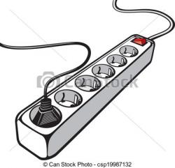 Plug clipart extension cord
