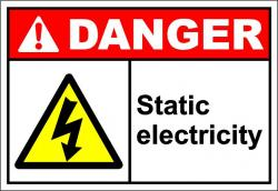 Electricity clipart warning
