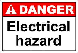 Electrical clipart hazard