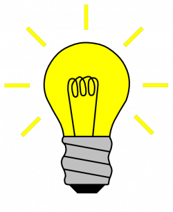 Electrical clipart light bulb