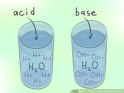 Element clipart acids and base