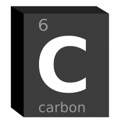 Elemental clipart carbon