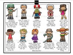 Elements clipart character story
