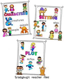 Element clipart character story