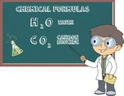 Elements clipart chemical formula