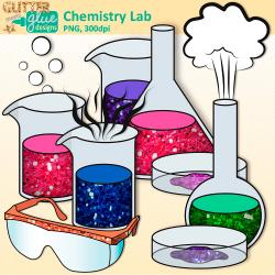 Element clipart chemistry experiment