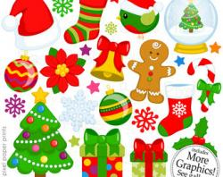 Element clipart christmas element