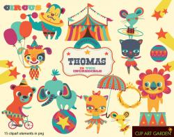 Element clipart circus