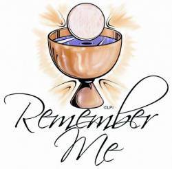 Religious clipart first communion