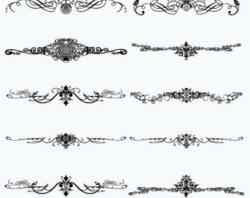 Gothc clipart decorative
