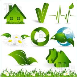 Elements clipart environmental science